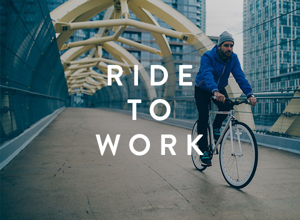 Ride your bike to work!