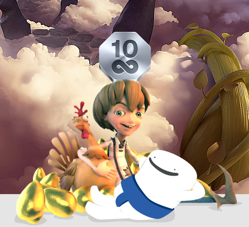 Casumo Casino - 10 free spins - celebrate the weekend Jack and the Beanstalk