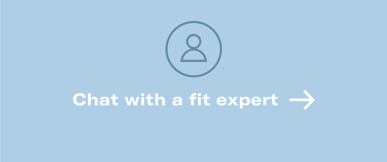 Speak with a Knix Fit Expert