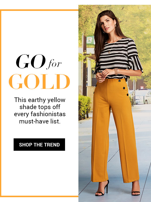 SHOP THE MUSTARD TREND