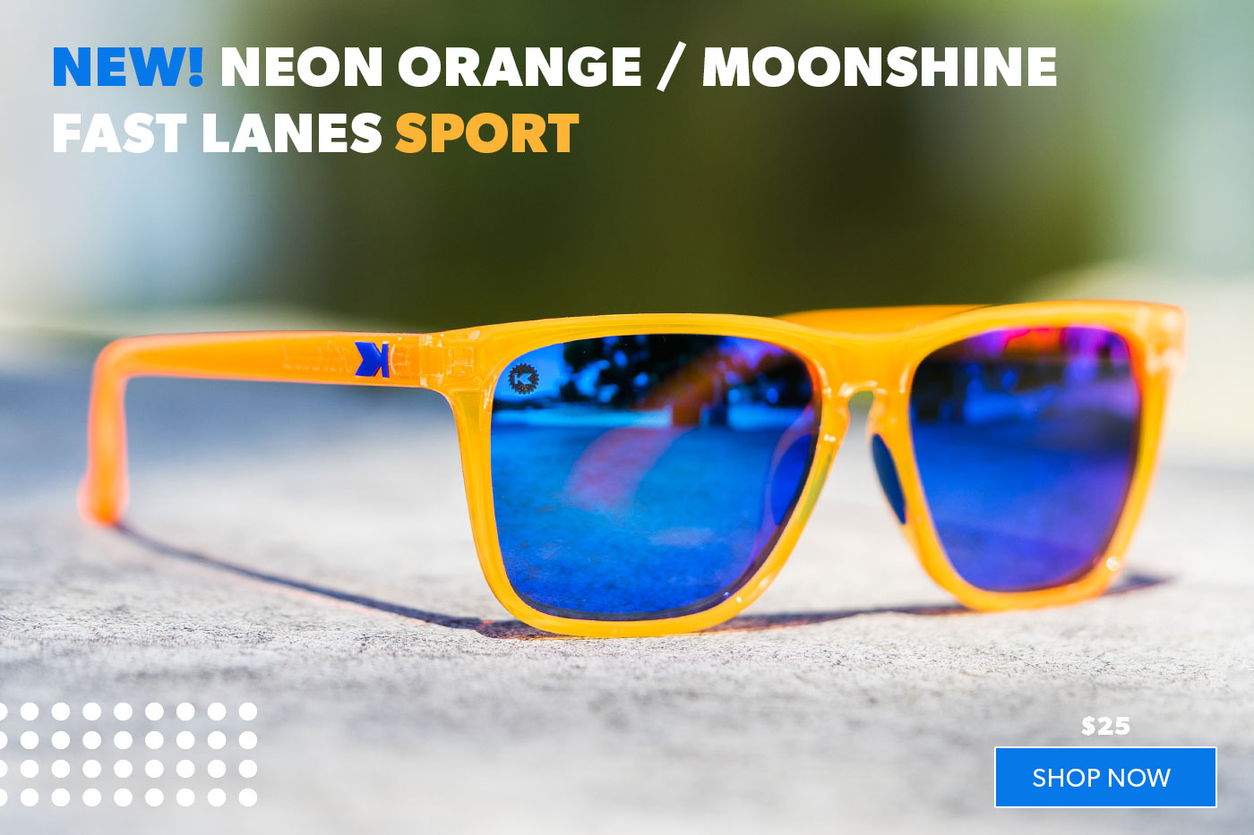 New! Neon Orange / Moonshine Fast Lanes Sport
