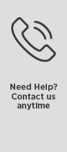 Need Help? Contact us anytime.