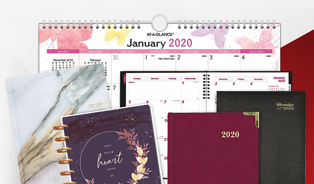 Grab your 2020 Calendar and Planner