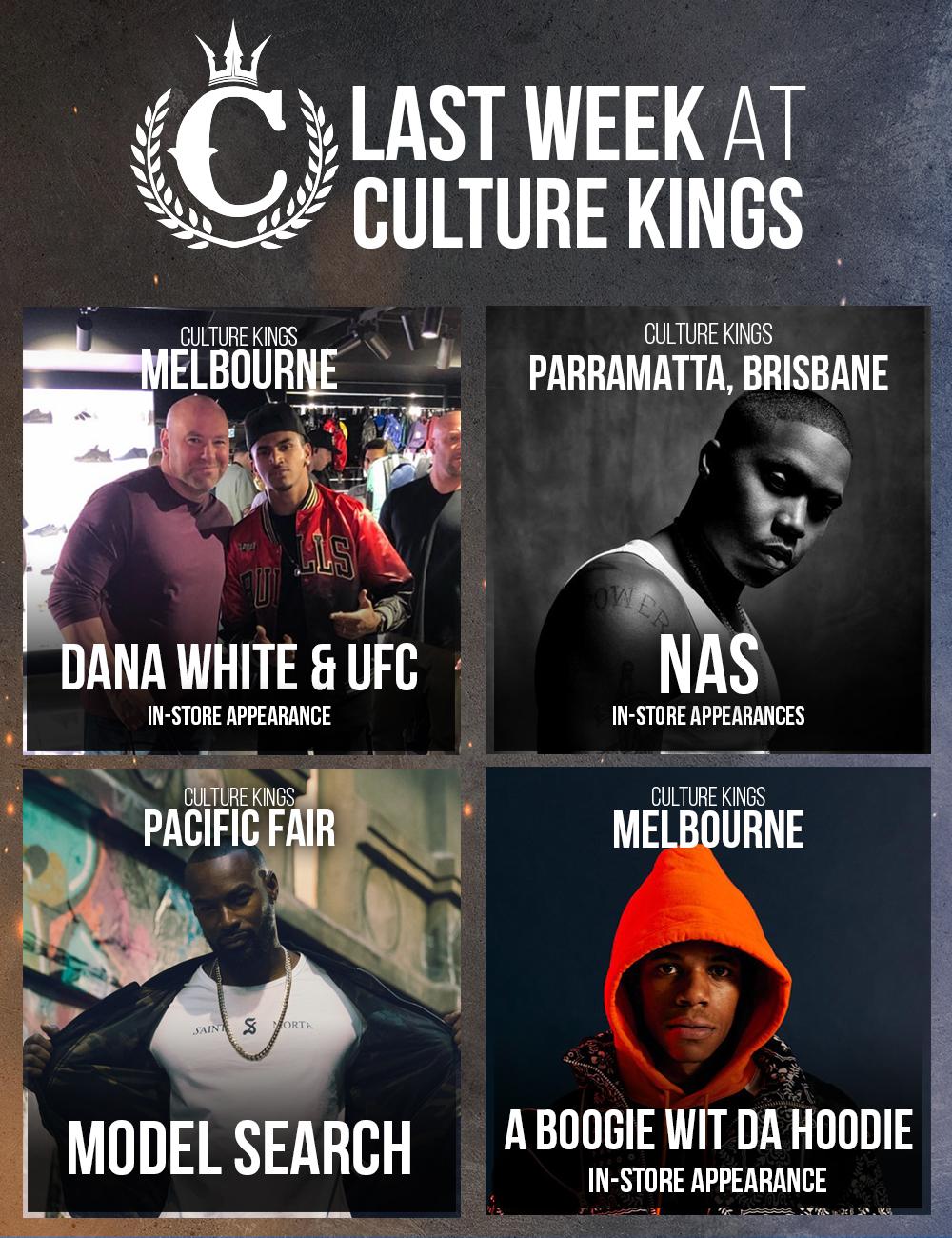 Last Week at Culture Kings