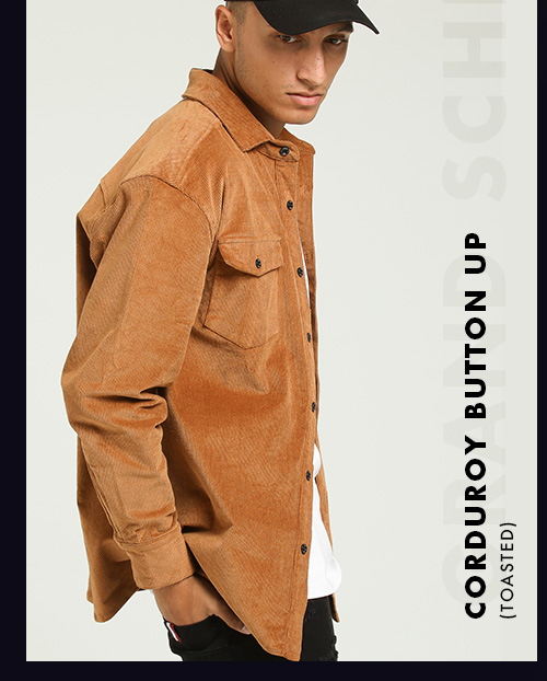 / Corduroy Button Up