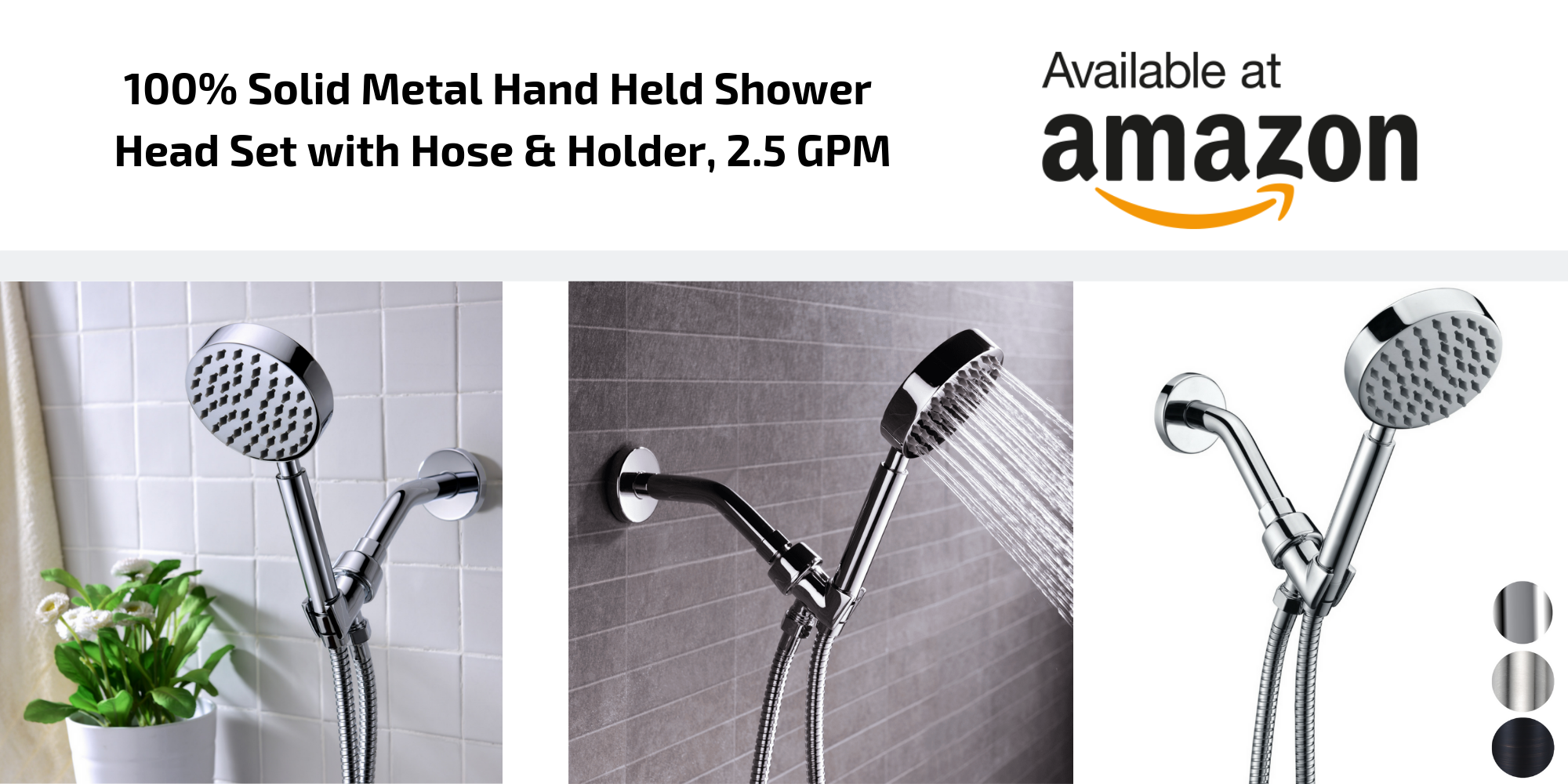 Best Shower Heads Amazon   ALL METAL Shower Heads Built To Last