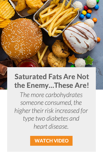 Saturated Fats Are Not The Enemy, These Are