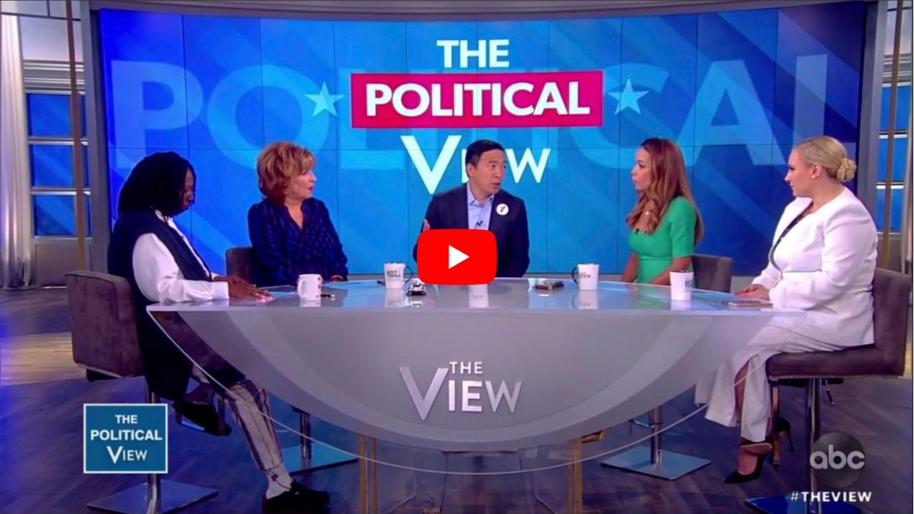 Andrew Yang on The View