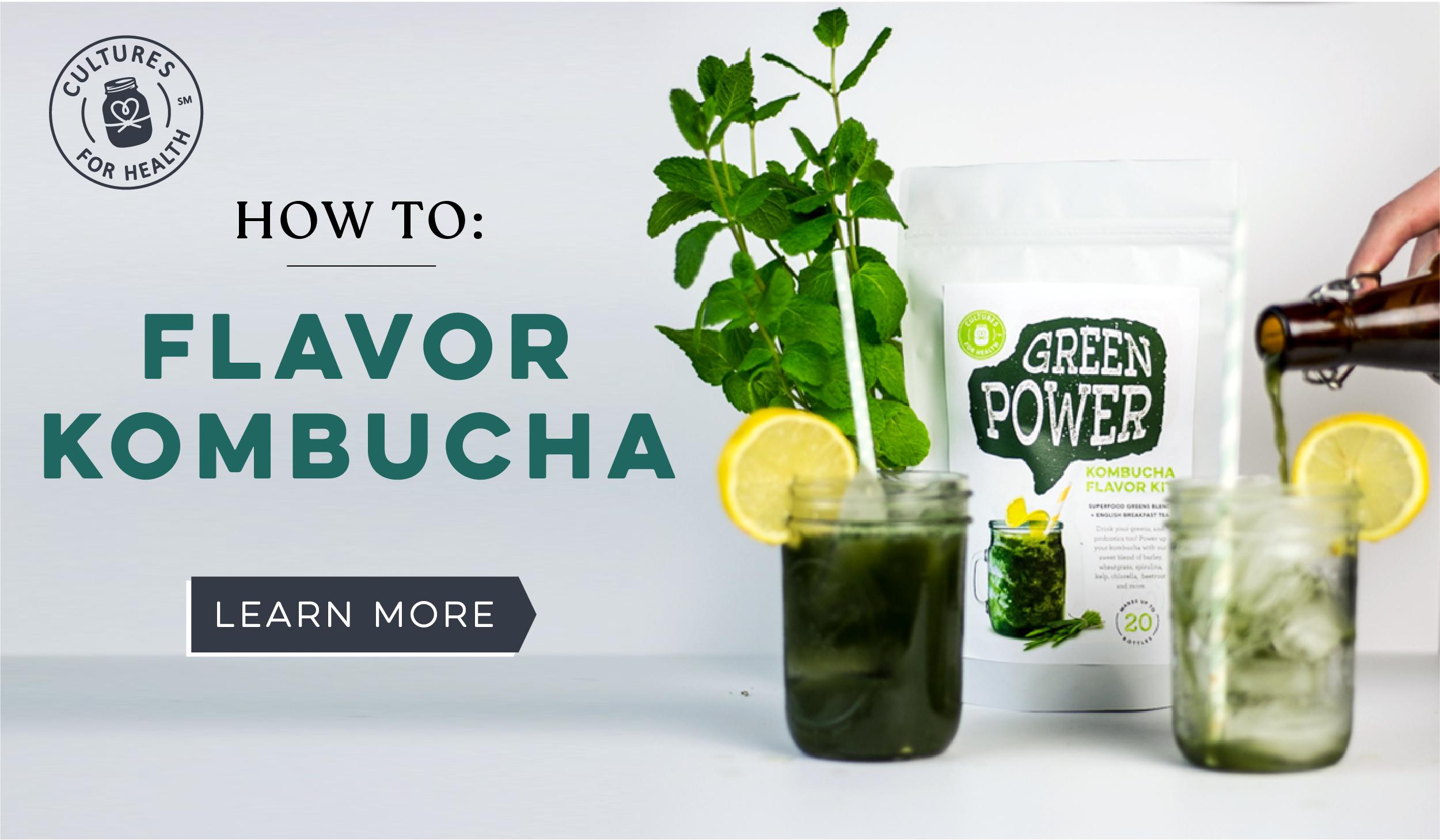 How to Flavor Kombucha