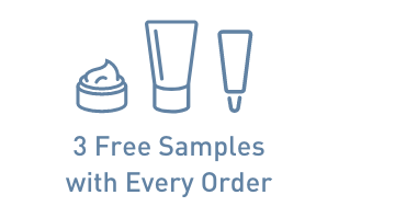 3 FREE Samples with Every Order