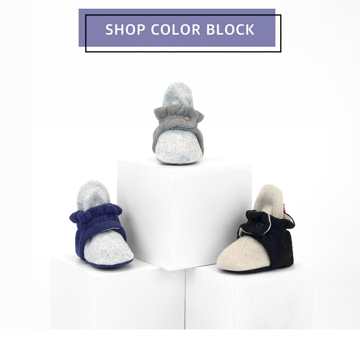 Shop color block.