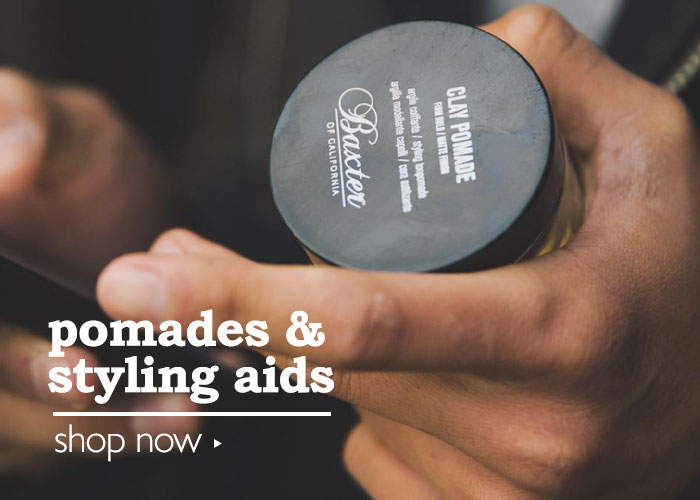 Shop Pomades & Styling Aids