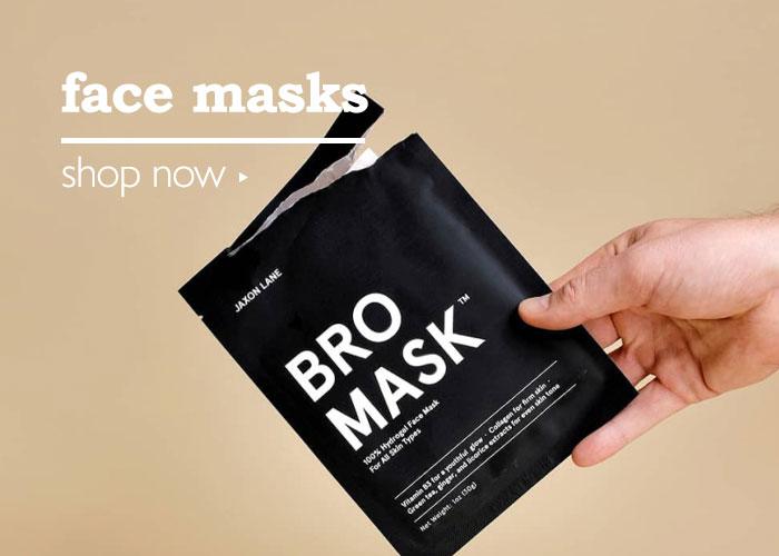 Shop Men's Skincare Masks
