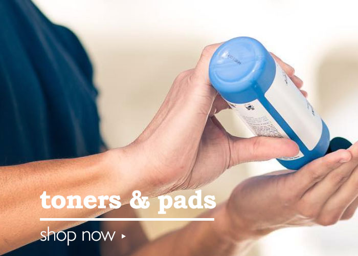 Shop Men's Toners & Pads