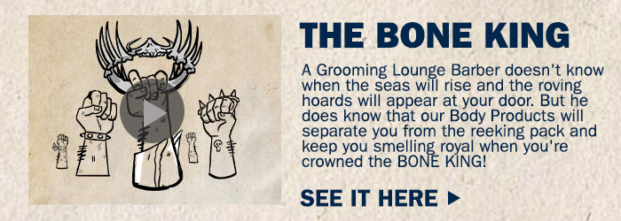 Watch the Grooming Lounge Bone King Video
