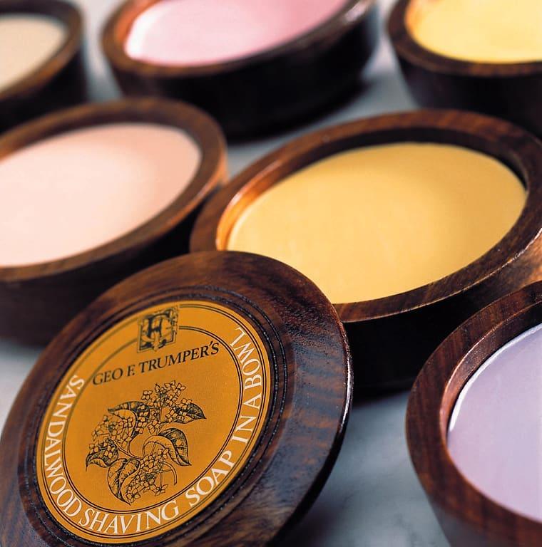 Shop Geo F. Trumper Sandalwood Shaving Soap with Wooden Bowl