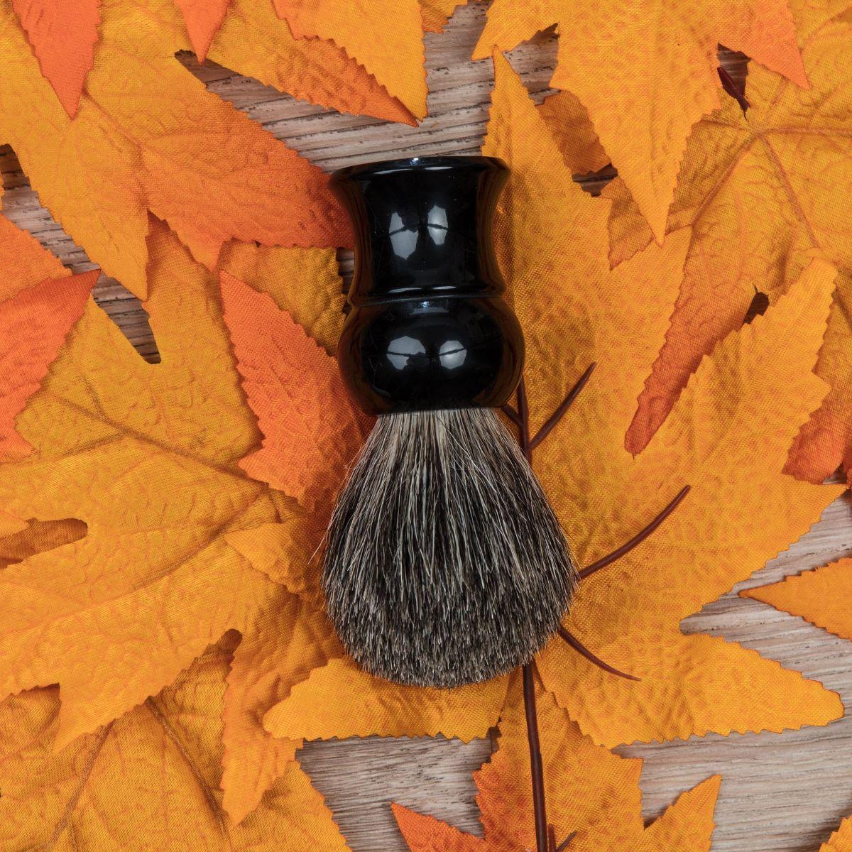 Shop Fendrihan Best Badger Shaving Brush, Black Handle