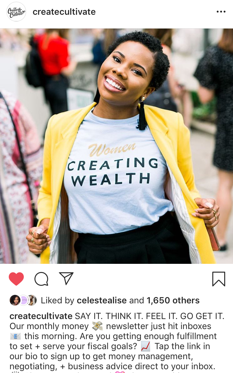Women Creating Wealth T Shirt