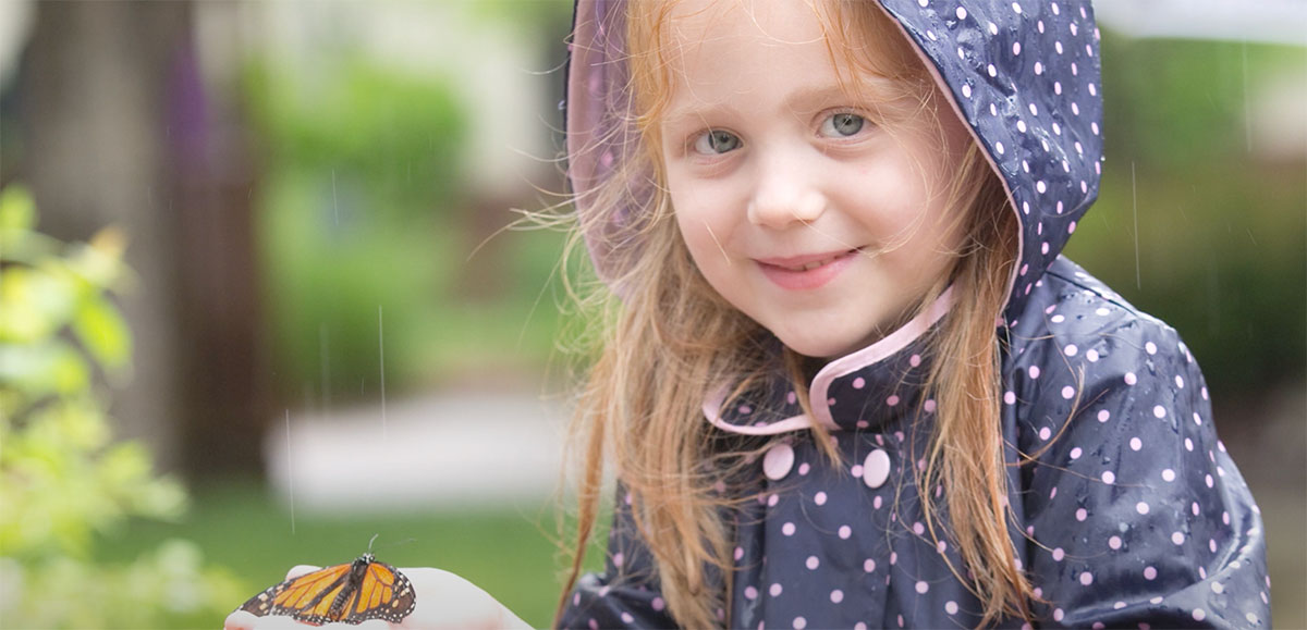 Alive's Memorial Butterfly Release at Home