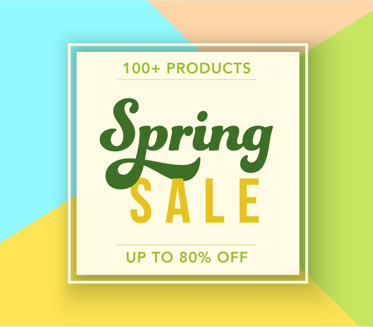 SPRING SALE - UP TO 80% OFF