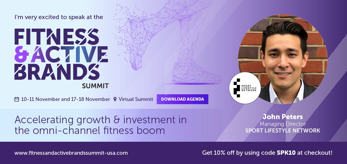 SLN's John Peters will be speaking at the Fitness & Active Brands Summit