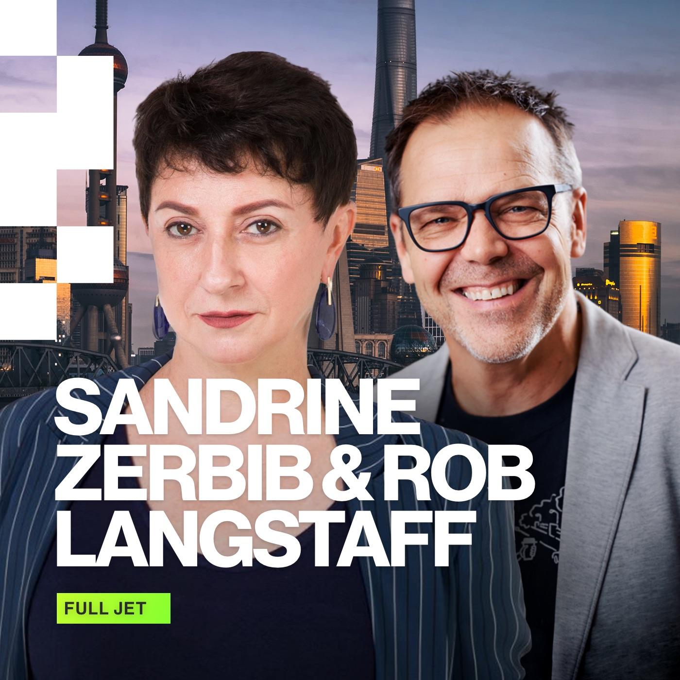 Sandrine Zerbib and Rob Langstaff