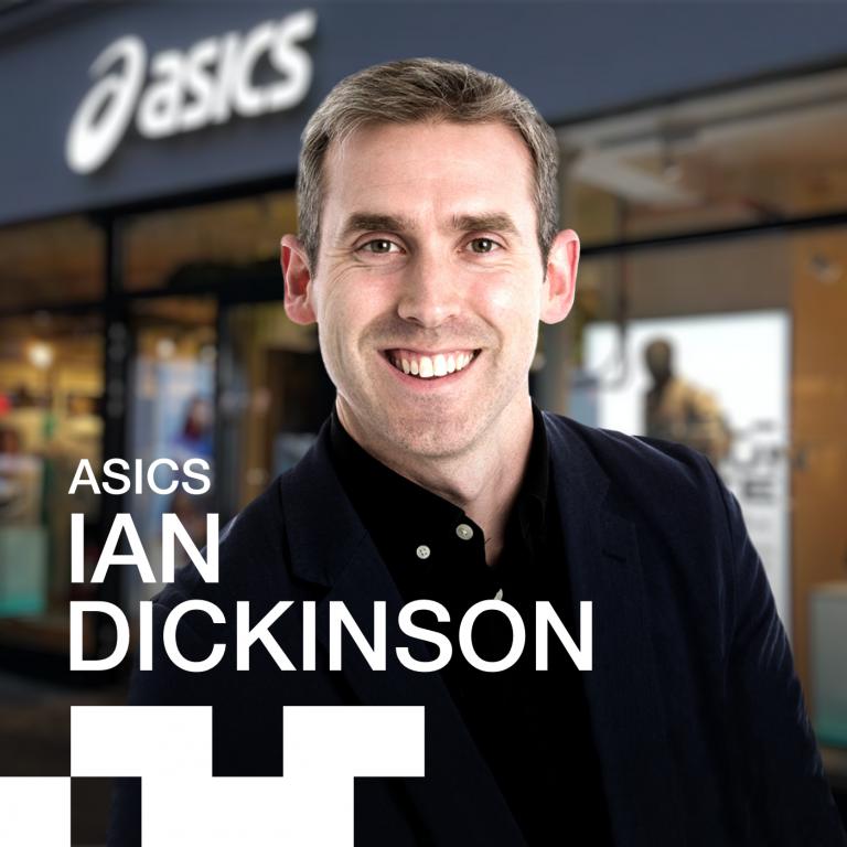 Asics VP of Categories Ian Dickinson