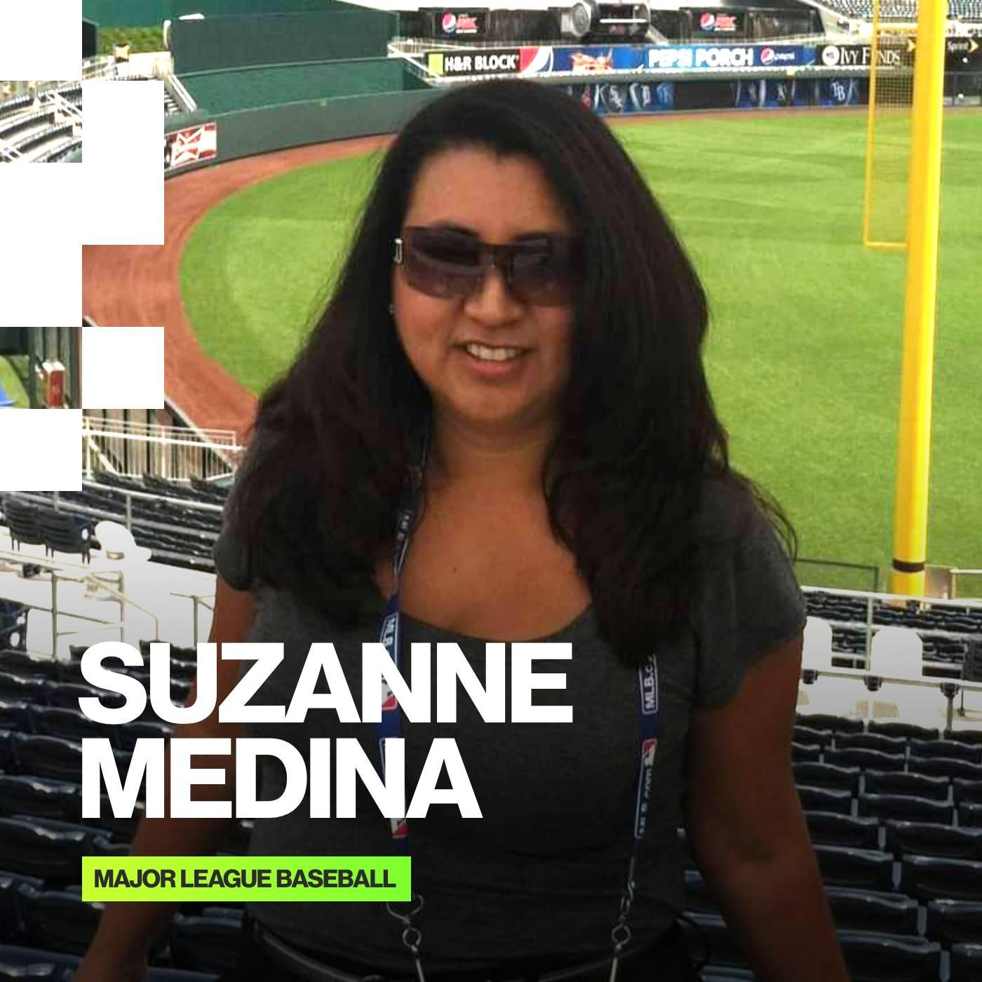 Suzanne Medina, VP Spanish Content, Major League Baseball