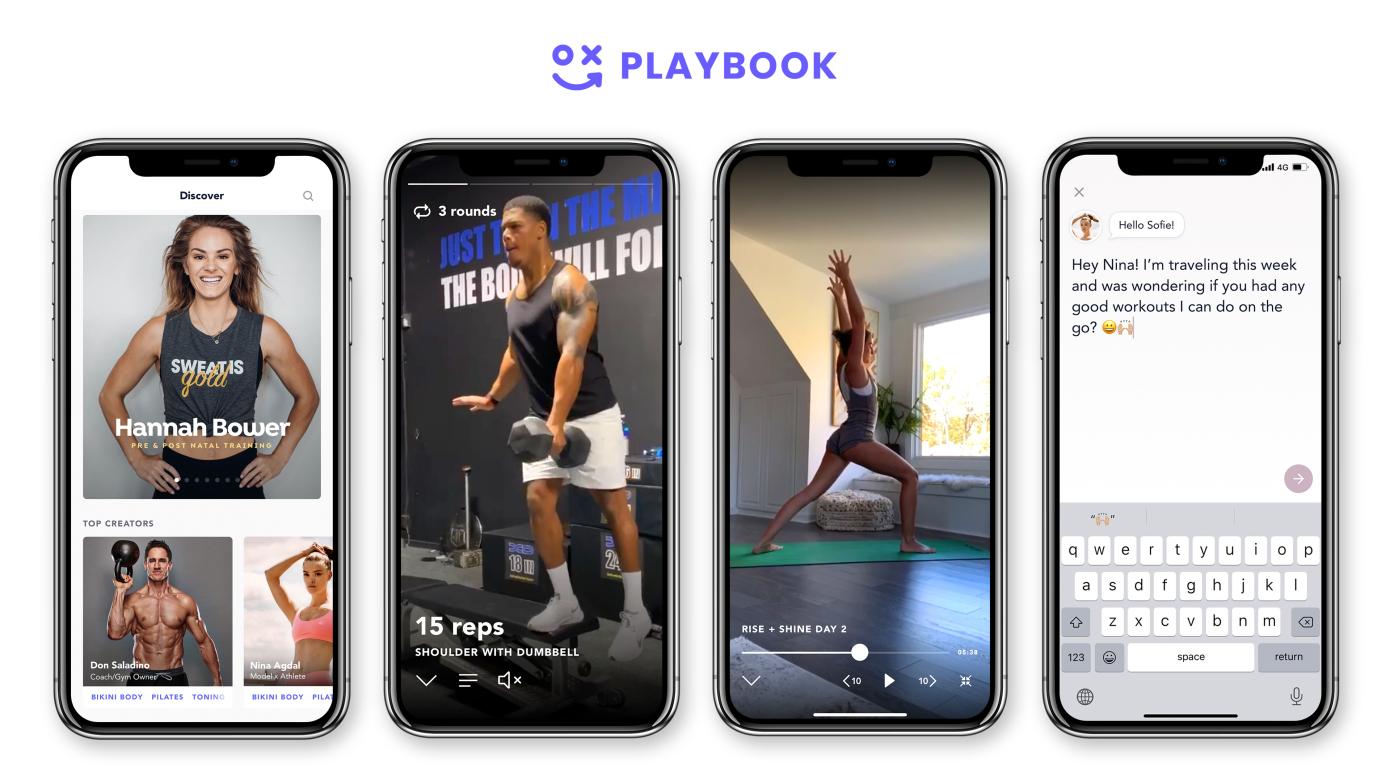 Screenshots from Playbook app