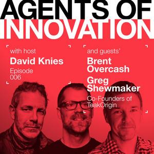 TeakOrigin co-founders Brent Overcash and Greg Shewmaker