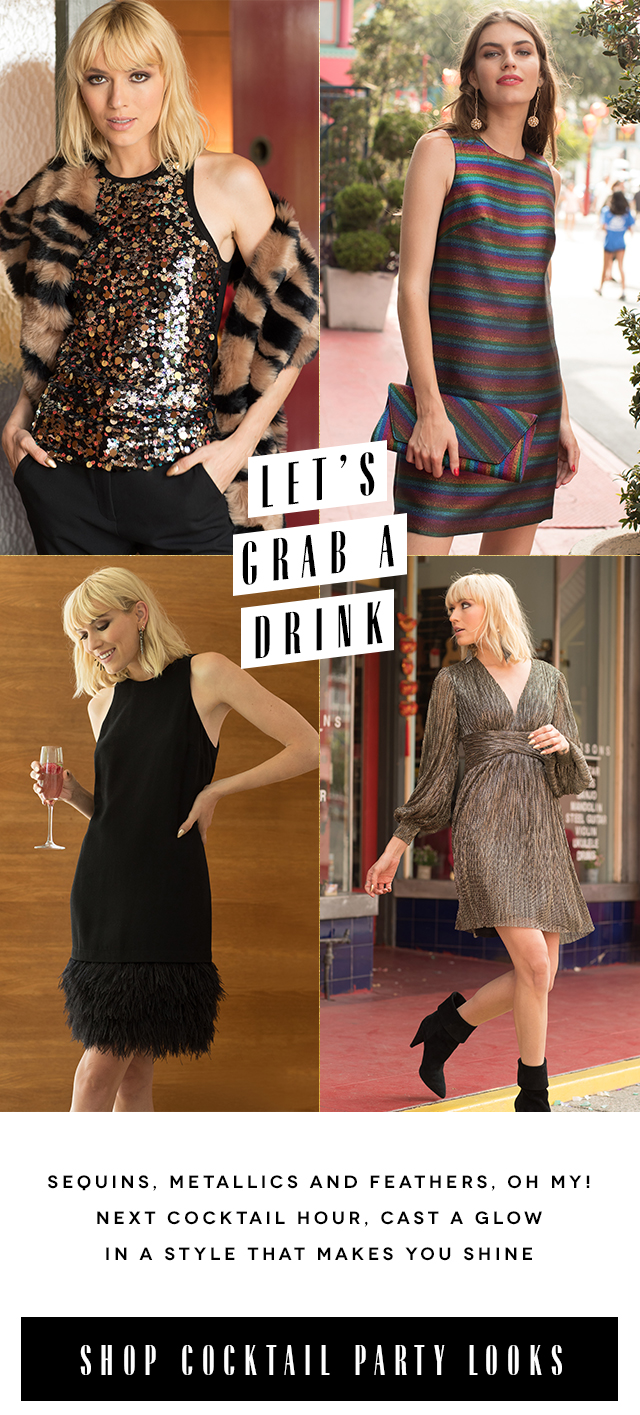 Let's Grab a Drink | Shop Party Looks
