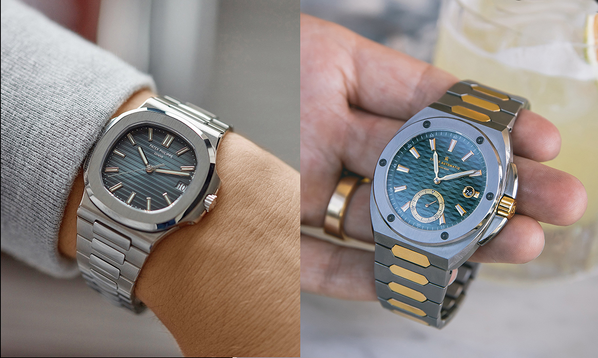 Patek Phillipe vs. Diamondback