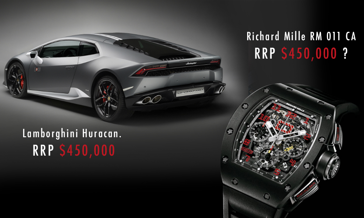 Lamborghini vs. Richard Mille