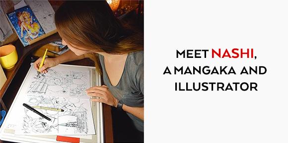 Meet NASHI, a Mangaka and Illustrator