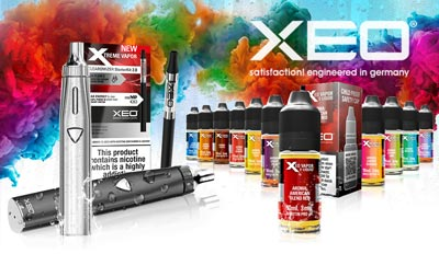 XEO Exclusively Available at Vapour2 and Pure E-liquids