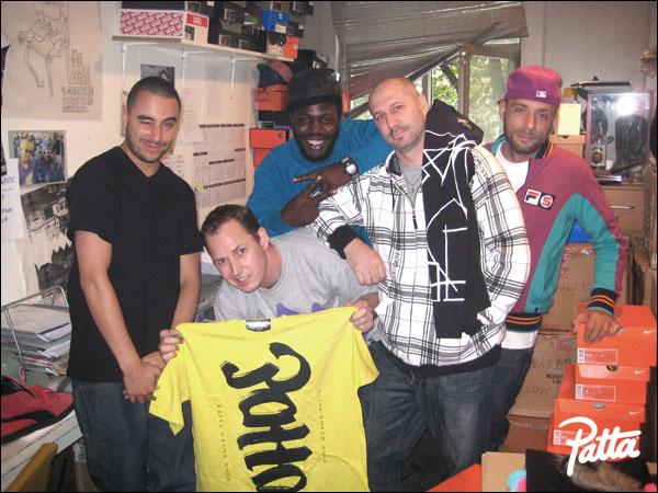 Team Patta, SHOE & Eric Elms