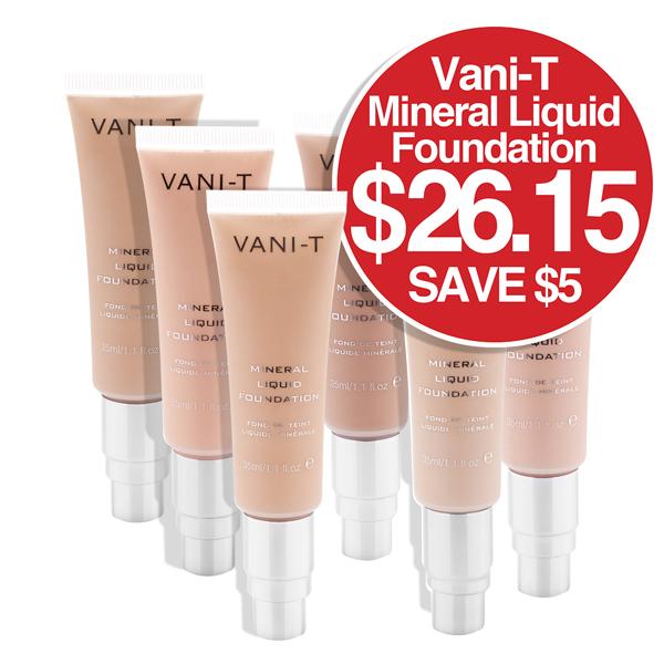 Vani-T - INTRO PRICE Mineral Liquid Foundation