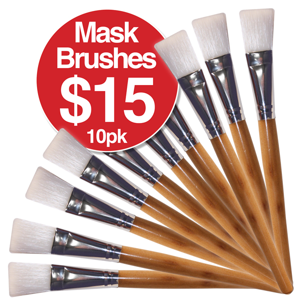 Mask Brushes $15 10 Pack