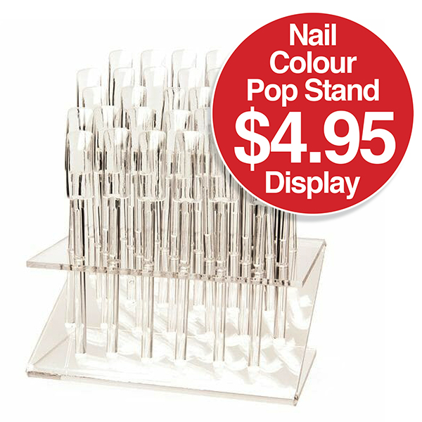 Nail Colour POP Stand Display