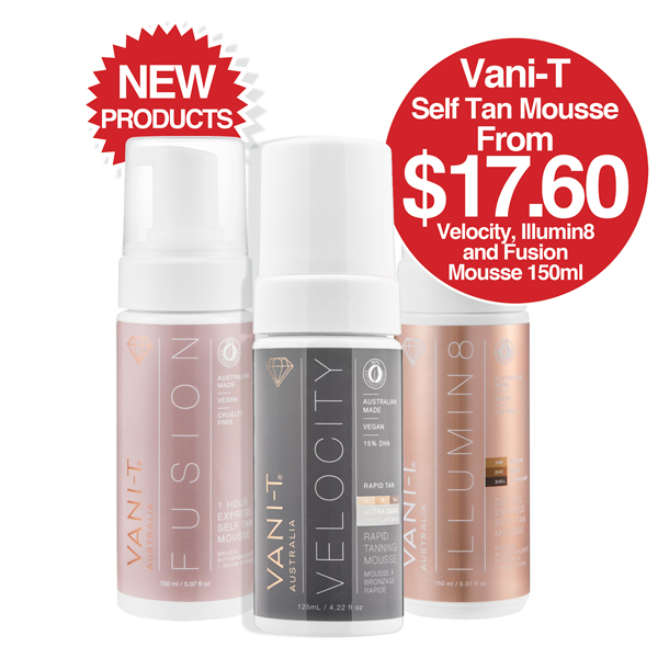 VANI-T Self Tan NEW Products
