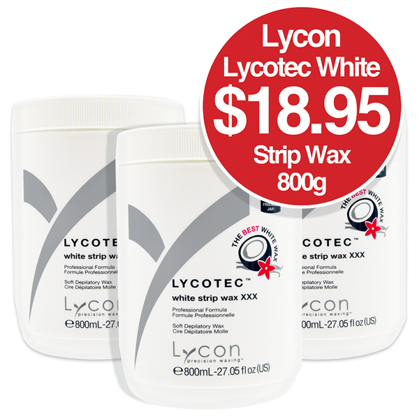Lycon Lycotec White Strip Wax