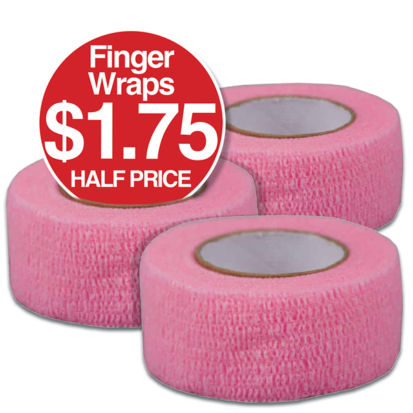 Finger Wrap Half Price