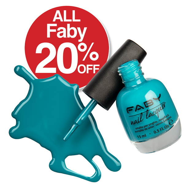 20% Off All Faby