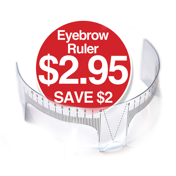 Eyebrow Ruler $2.95 Save $2