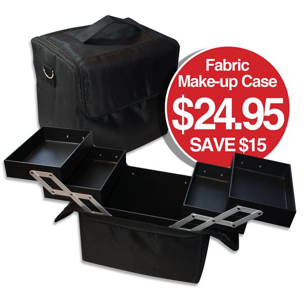 Fabric Make-up Case $24.95 SAVE $15