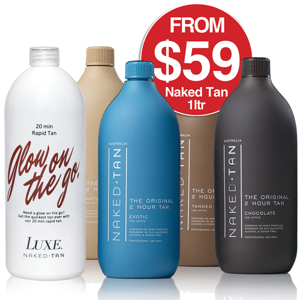 Naked Tan from $59