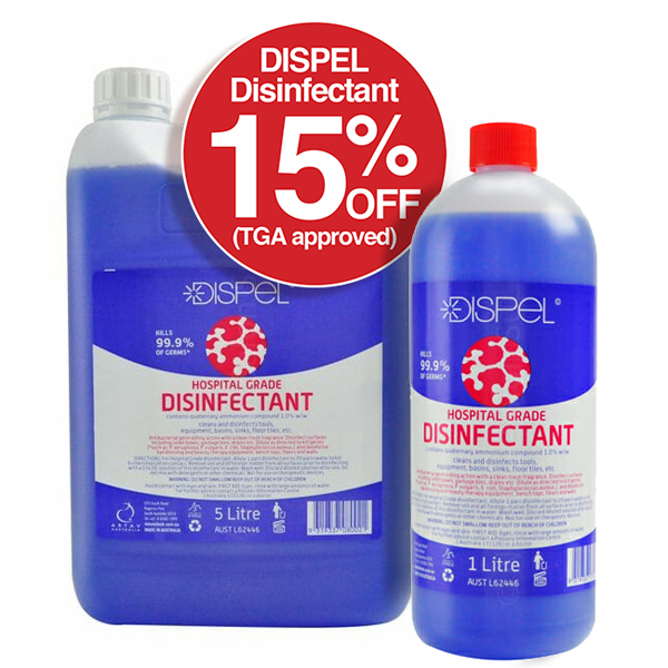 Dispel Disinfectant Save 15%