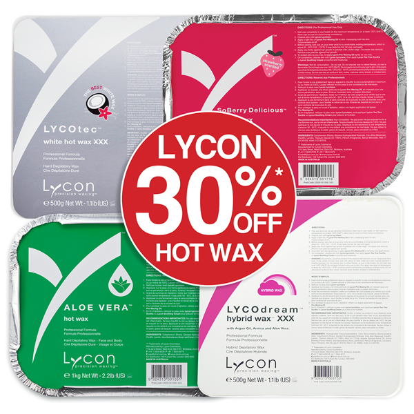 LYCON HOT WAX Save up to 30%