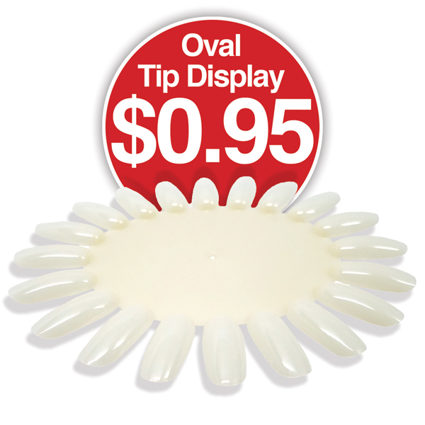 Oval Tip Display