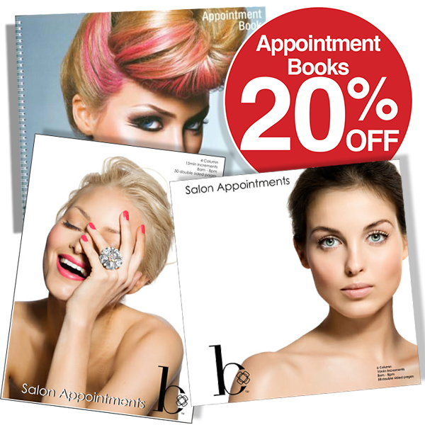 20% off Appointment Books